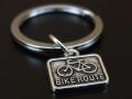 送料無料!自転車 キーホルダー おしゃれ メンズ レディース キーリング 小さめ かわいい 自転車モチーフ ロードバイク
